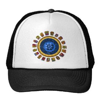 Mayan calendar design hat