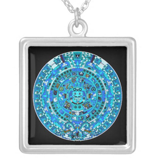 Mayan Calendar, ending in 2012 Personalized Necklace