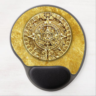 Mayan Calendar (Gold) Gel Mouse Pad