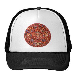 Mayan Calendar Mesh Hat