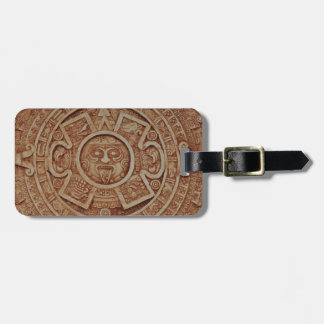 Mayan Calendar Luggage Tag