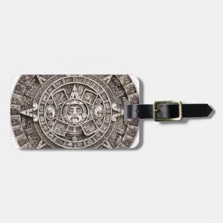 Mayan Calendar Bag Tags