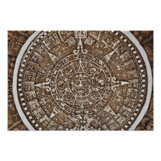 Mayan Calendar Photo Print