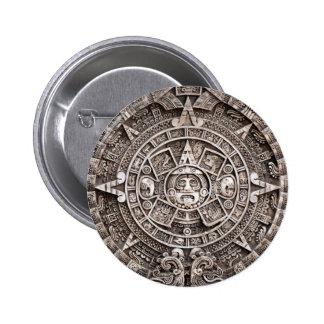 Mayan Calendar Pin