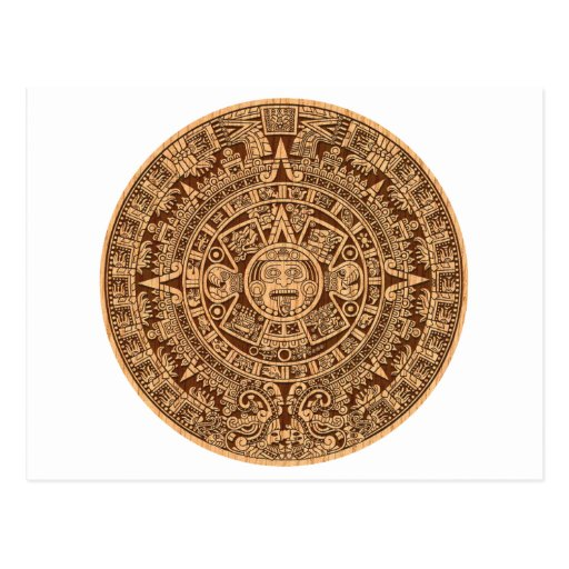 Mayan Calendar Postcards