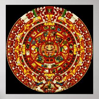 mayan calendar poster