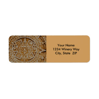 Mayan Calendar Return Address Label