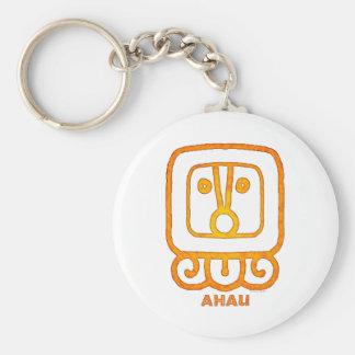 Mayan Calendar Sign AHAU Key Chains