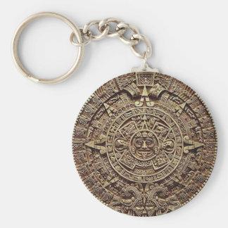 Mayan Calendar Stone 12.21.2012 Key Chains
