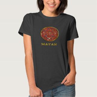 "Mayan calendar woman""s clothing tee shirts"
