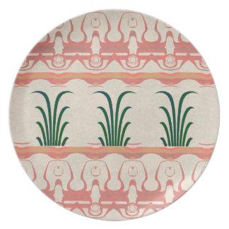 Mayan Design Dinner Plates