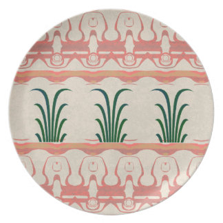 Mayan Design Party Plates