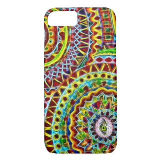 Mayan Disguise Fractal iPhone 7 Case