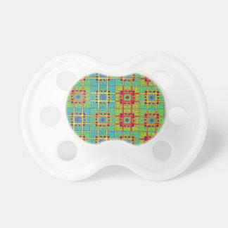 Mayan ethnic tribal pattern.jpg pacifier