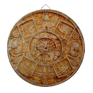 Mayan God Calendar Dartboard