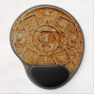 Mayan God Calendar Gel Mouse Pad
