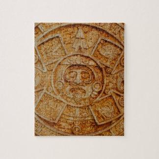 Mayan God Calendar Jigsaw Puzzle