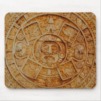 Mayan God Calendar Mouse Pad