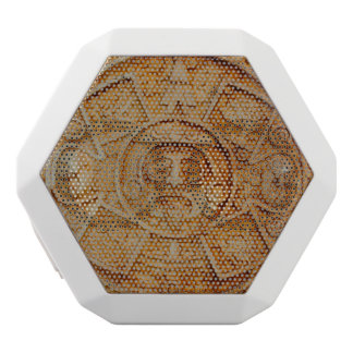 Mayan God Calendar White Bluetooth Speaker