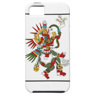Mayan God Kukulcan iphone protector iPhone 5 Covers