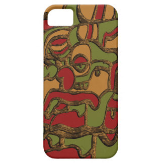 Mayan Hieroglyphs Design Barely There iPhone 5 Case