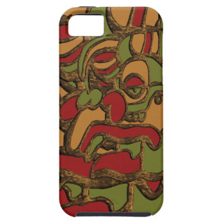 Mayan Hieroglyphs Design Tough iPhone 5 Case