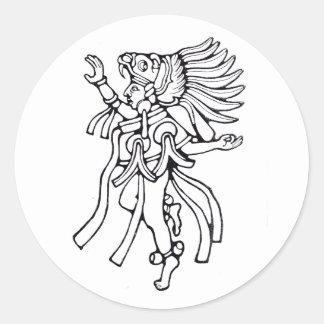 Mayan jaguar dancer - Dancer sticker
