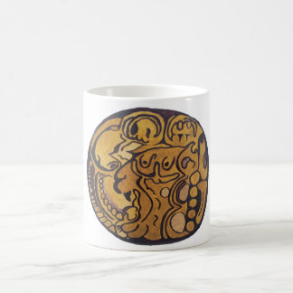 MAYAN JAGUAR MEDALLION-IBIS HOTEL-CANCUN COFFEE MUG
