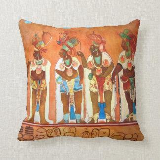 Mayan Men Cushion