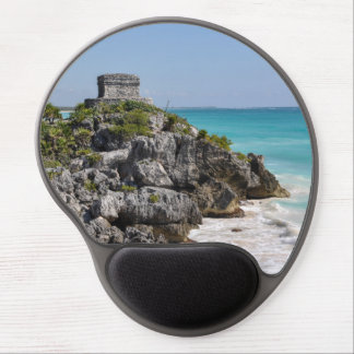 Mayan Ruins in Tulum Mexico Gel Mouse Pad