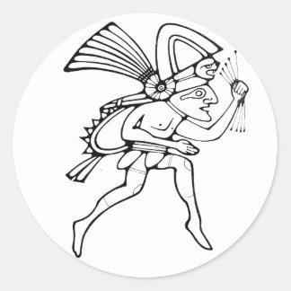 Mayan runner - Dancer sticker