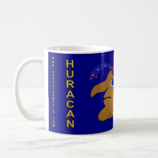 MAYAN SPIRIT HURACAN- MIDNIGHT BLUE-CANCUN COFFEE MUG