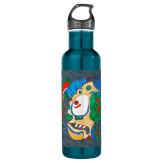 MAYAN SPIRIT KAI YUM- GREEN- CANCUN MEXICO 710 ML WATER BOTTLE