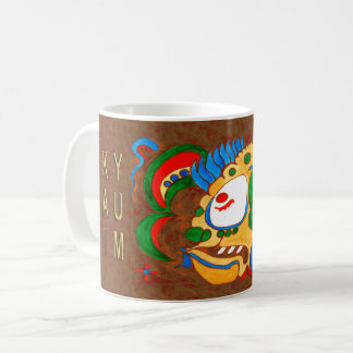 MAYAN SPIRIT KAI YUM- RED- MAYAN GOLD COAST COFFEE MUG