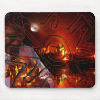 Mayan Winter Solstice Mouse Pad