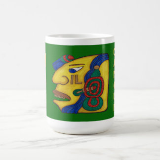 MAYAN WOMAN HUN- CANCUN MEXICO COFFEE MUG