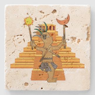 MayanPop Stone Coaster