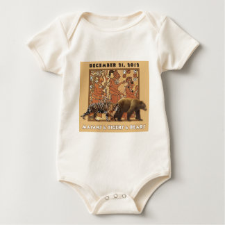 Mayans & Tigers & Bears Baby Bodysuit