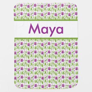 Maya's Personalized Iris Blanket