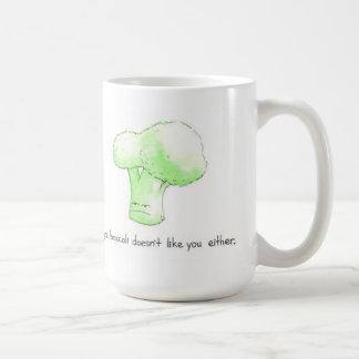 Maybe Brocolli Doesn't Like You Either Mug