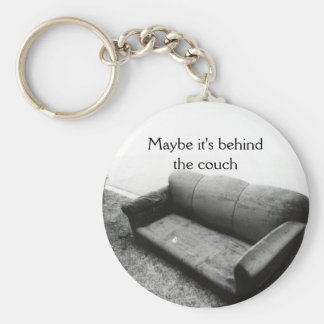 Maybe it's behind key ring