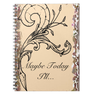 Maybe Today I'll Planner Notebooks
