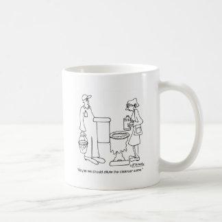 Maybe We Should Dilute It Basic White Mug