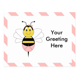MayBee Bumble Bee Postcard