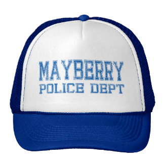Mayberry Police Dept. Trucker Hats