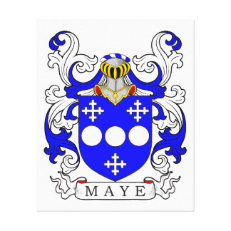 Maye Coat of Arms Canvas Print