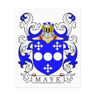 Maye Coat of Arms Canvas Print