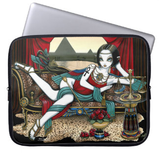 Mayet Egyptian Goddess Fantasy Laptop Sleeve 15""