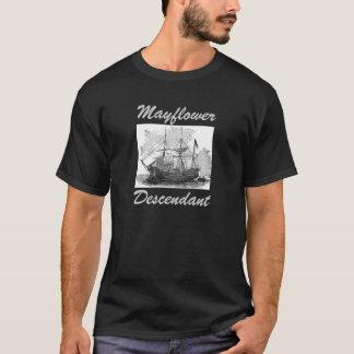 Mayflower Descendants Unite! T-Shirt