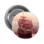 Mayflower in the Hudson Harbour Pin